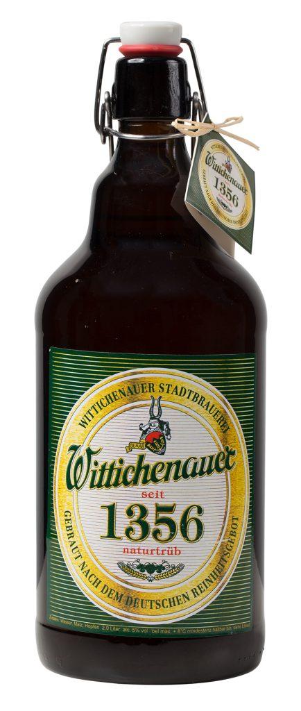 1356 naturtrüb - Wittichenauer Bier