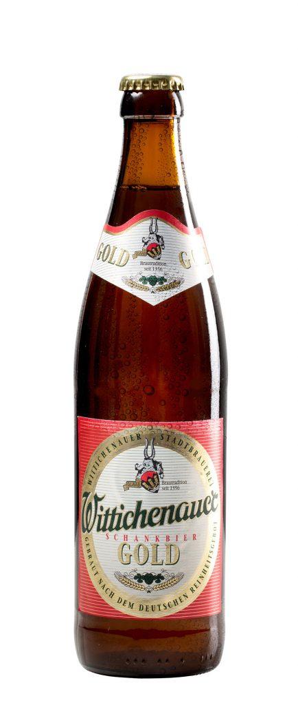Schankbier Gold - Wittichenauer Bier