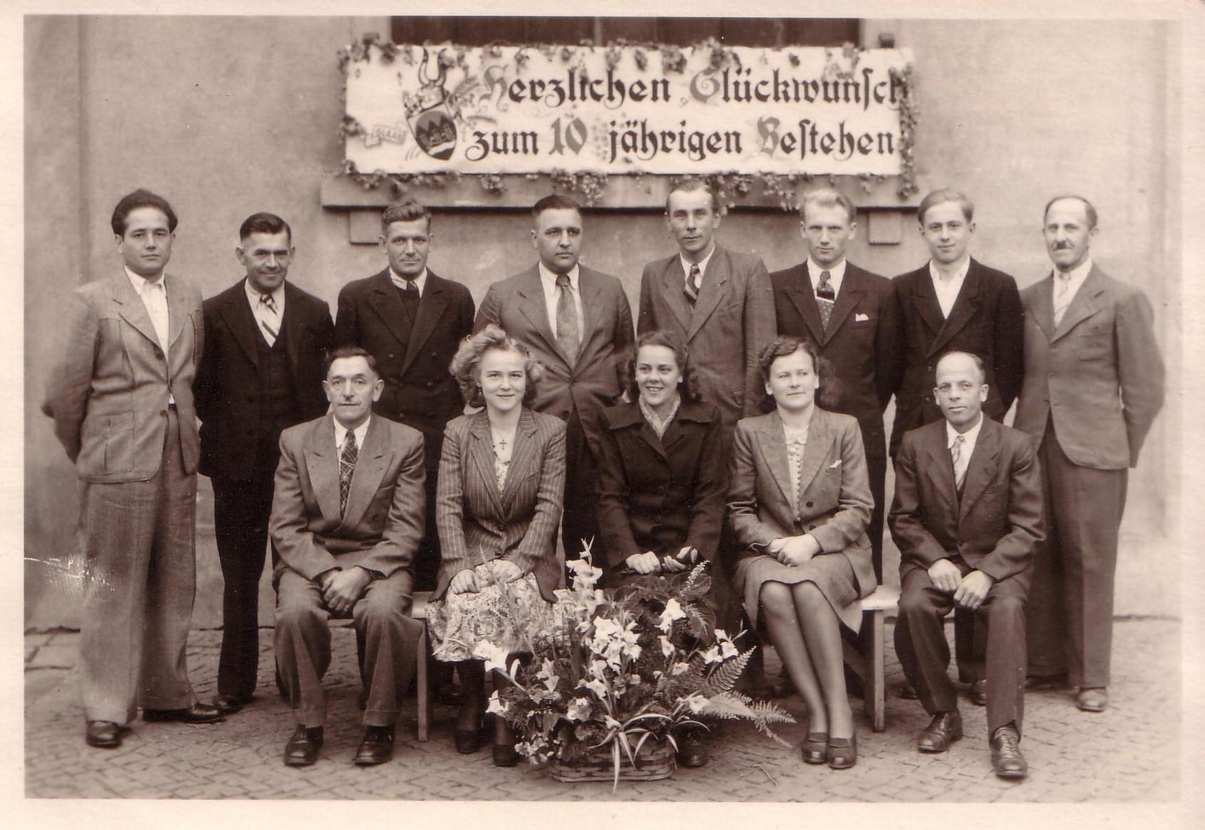 10 jähriges Bestehen - Stadtbrauerei Wittichenau
