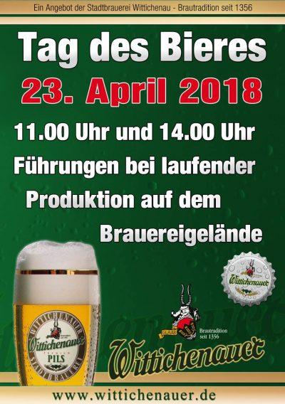 Tag-des-Bieres 2018 in der Stadtbrauerei Wittichenau